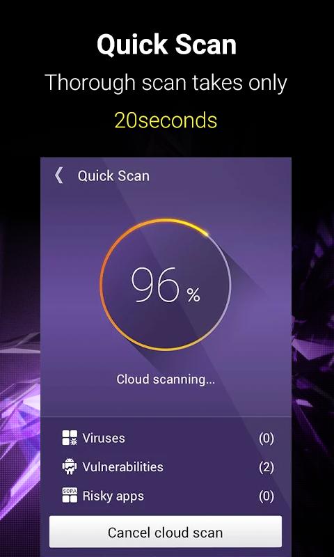 NQ Mobile Security & Antivirus Free screenshot 1