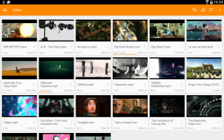 VLC for Android Screen