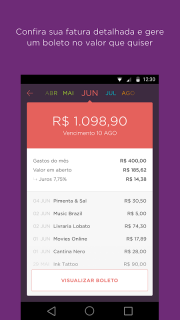 Nubank screenshot 4