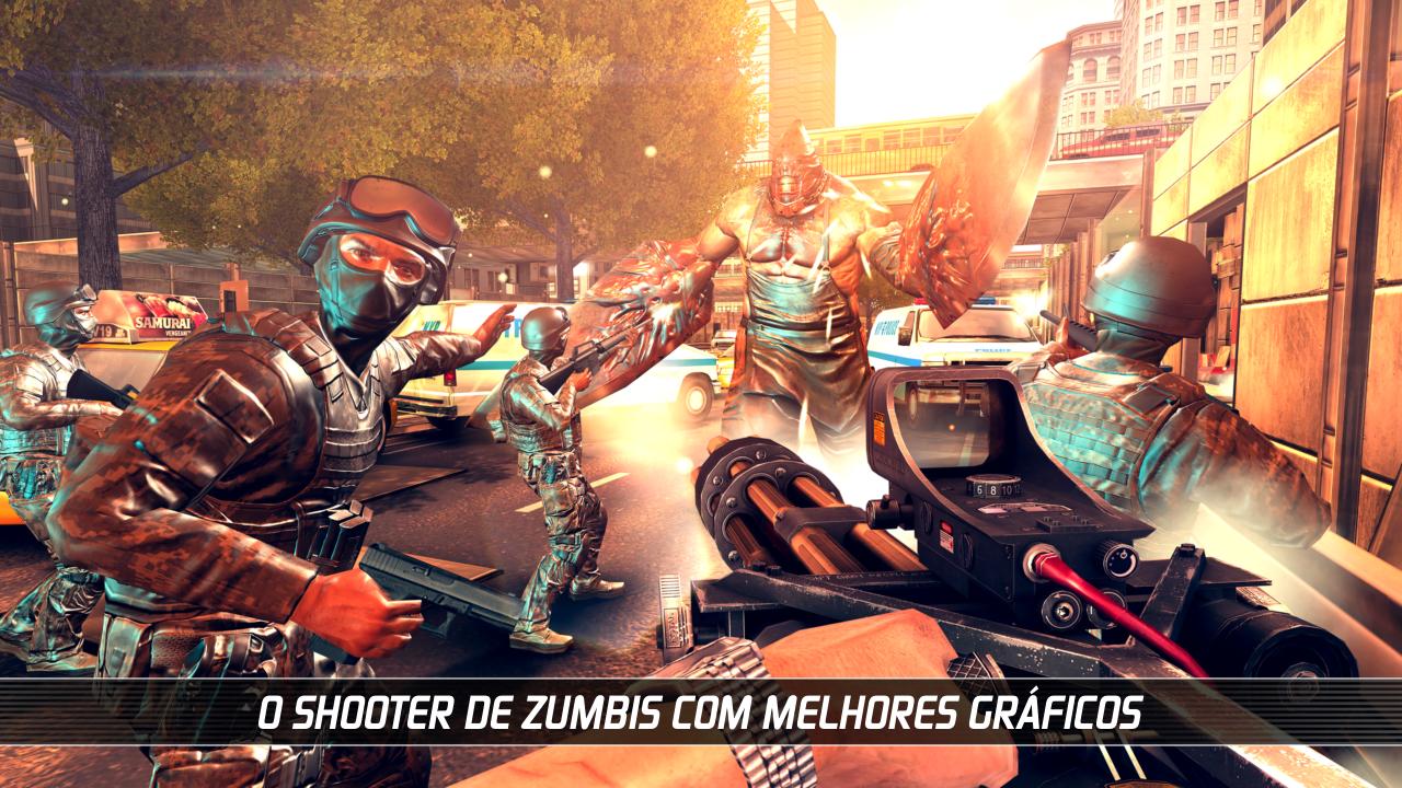 UNKILLED - Jogo de tiro multiplayer com zumbis screenshot 1