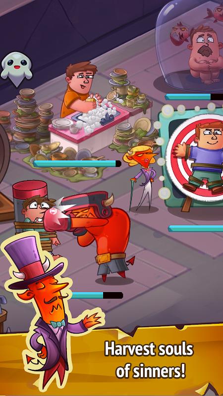 Idle Evil Clicker screenshot 1