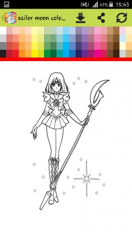 Coloring Book For Sailor Painting Games Screenshot 3