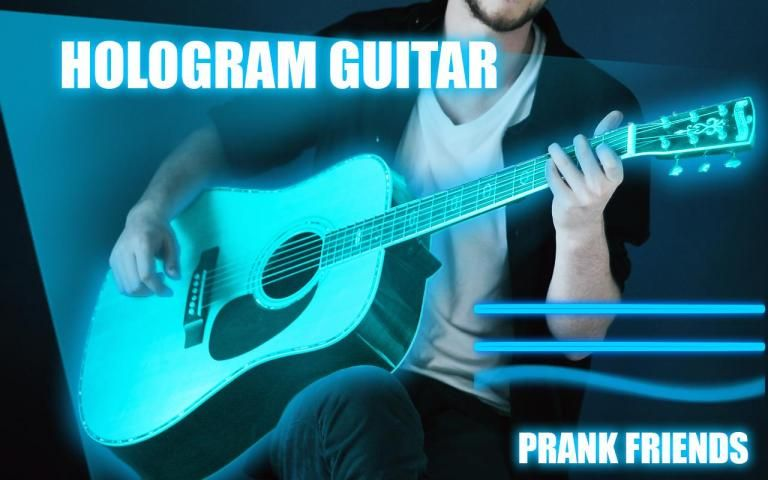 Hologram Guitar 3D Bas screenshot 2