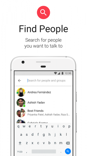 Messenger Lite: бесплатные звонки и сообщения screenshot 6