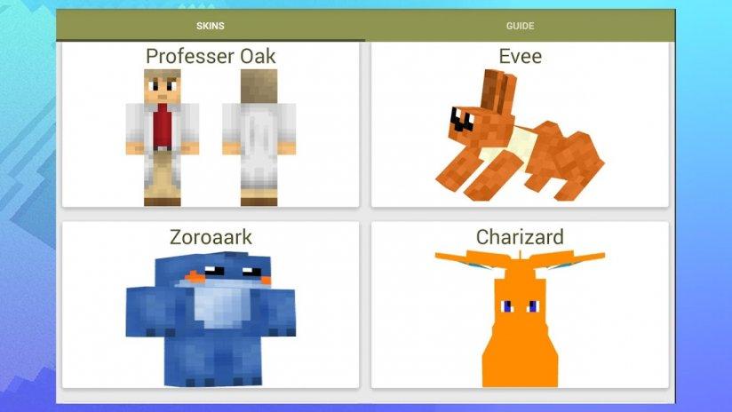 Skins For Minecraft Pokemon Descargar APK Para Android Aptoide - Skins para minecraft pe de pokemon