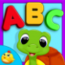 kids learning abc flash cards icon