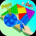 DIY Pop it Push and Pop: Fidget Popper Game