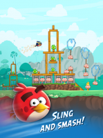 Angry Birds Friends Screen