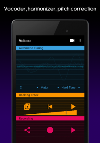 voloco auto voice tune harmony 3 0 2 download apk for android