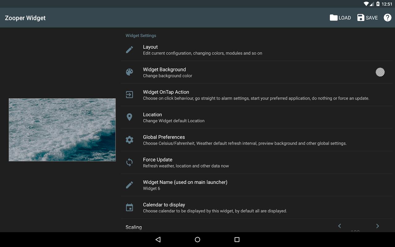 Zooper Widget Pro screenshot 1