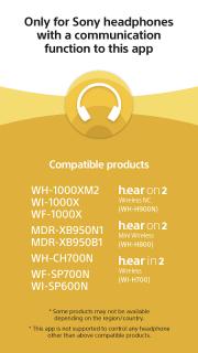 Sony   Headphones Connect screenshot 4