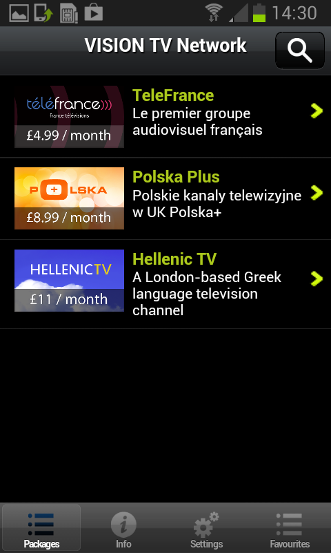 VisionTV Network 3.2.2a Download Android APK | Aptoide