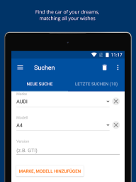 AutoScout24 Switzerland – Find your new car screenshot 1
