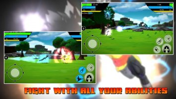 The Final Power Level Warrior (RPG) Screen
