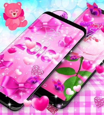2018 lovely pink live wallpaper 77 download apk for android aptoide 2018 lovely pink live wallpaper screenshot 5 altavistaventures Gallery