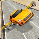 City Flying Car Driving - Futuristic Flight Sim