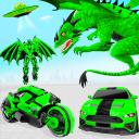 Flying Dragon Transport Truck Transform Robot Game