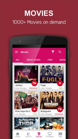 Idea Mytv Live TV Movies News 3 1 Download APK for Android - Aptoide