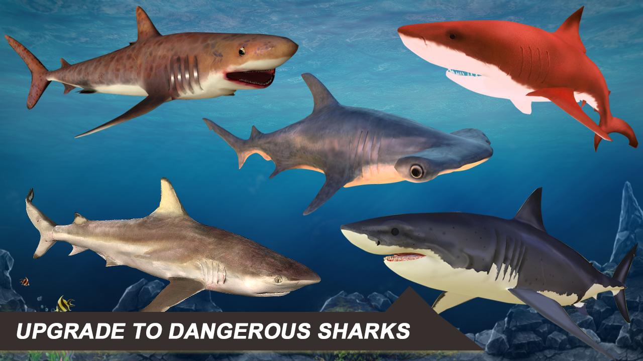 Shark Simulator 2018 screenshot 1