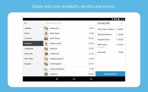 Square Point of Sale - POS screenshot 4