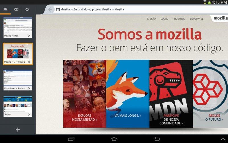Navegador Firefox screenshot 8