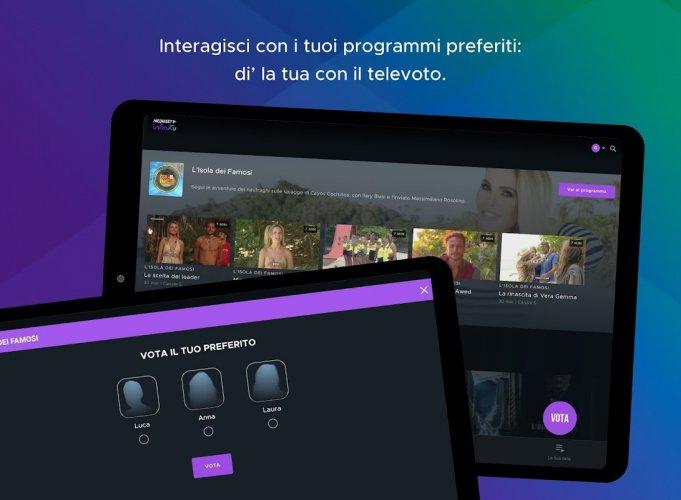 Mediaset Infinity TV screenshot 9