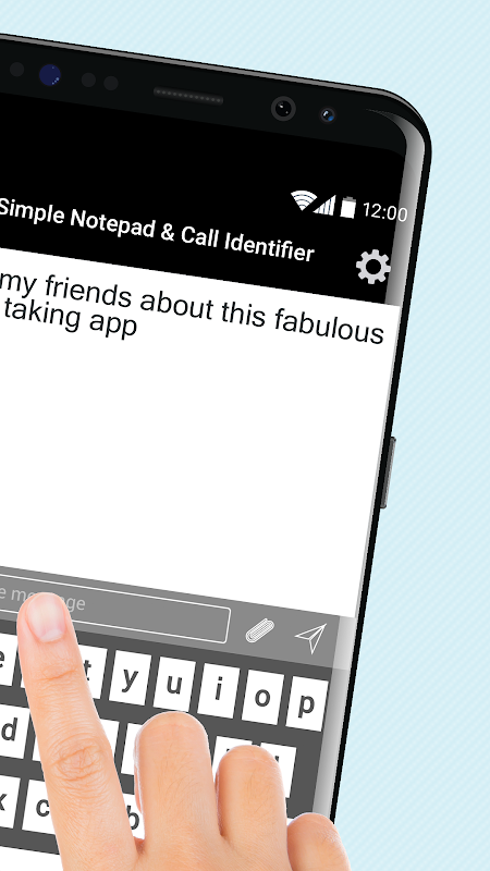 Simple Notepad & Call Identifier screenshot 2