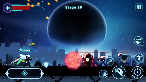 Stickman Ghost 2: Galaxy Wars screenshot 5