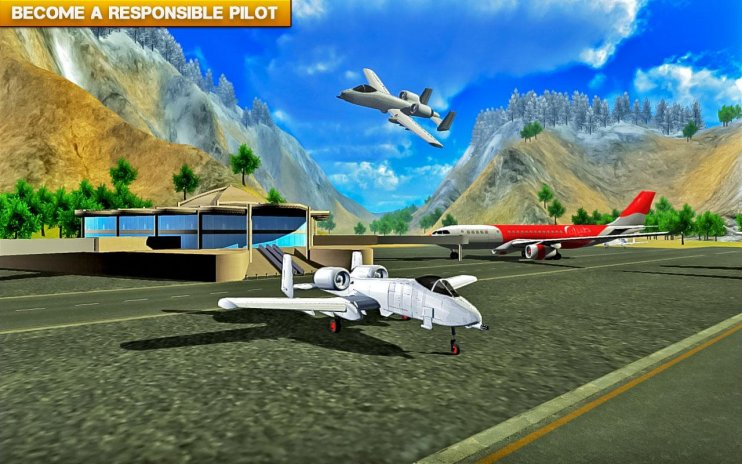 3d flying simulator air plane games 1 2 5 Download APK for