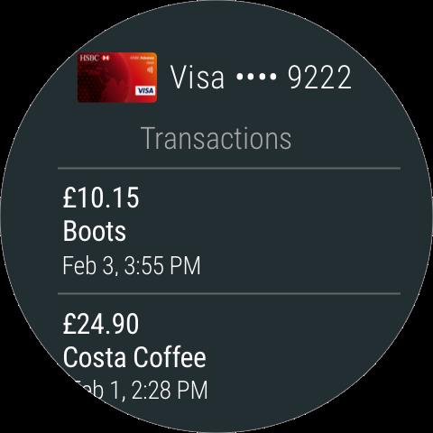 Android Pay screenshot 3