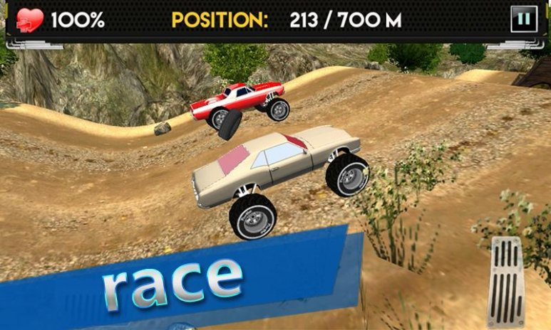 Up Hill Monster Car Racing 1 3 Download Apk For Android Aptoide