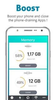 iBattery Saver - Boost & Clean screenshot 2