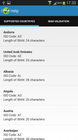 IBAN Check 1 2 1 Download APK for Android - Aptoide