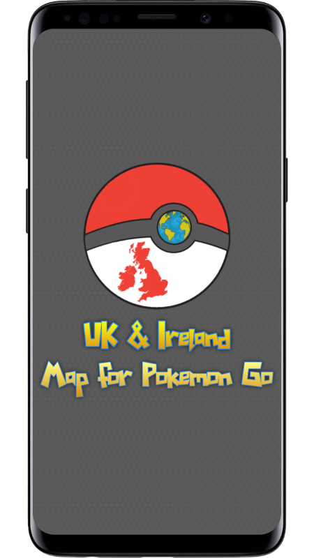 UK & Ireland Pokemon Go Map screenshot 1