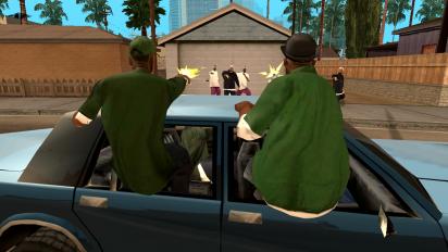 grand theft auto san andreas captura de pantalla 2