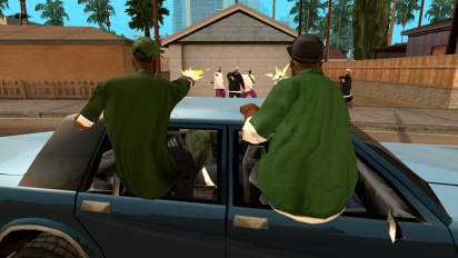 grand theft auto san andreas screenshot 7