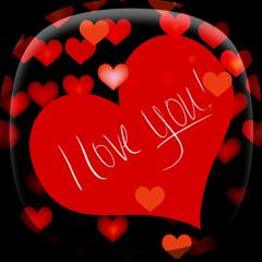 I Love You Live Wallpaper Hd Icon