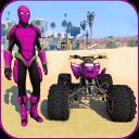 Quads Superheroes Stunts Racing