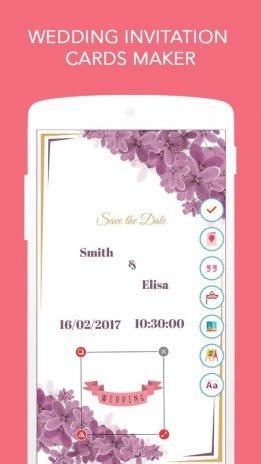 Wedding invitation cards maker 10 download apk for android aptoide wedding invitation cards maker screenshot 1 stopboris Gallery