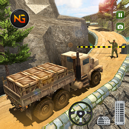 US Offroad Army Truck Driving Army Vehicles Game