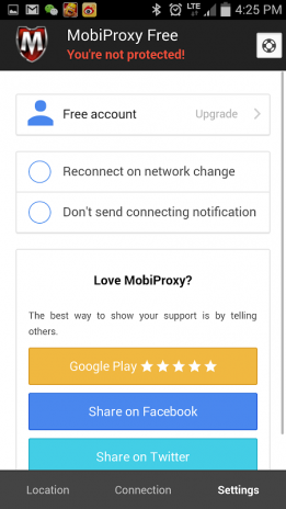 Mobiproxy - Free VPN Proxy 1 7 1 Download APK for Android