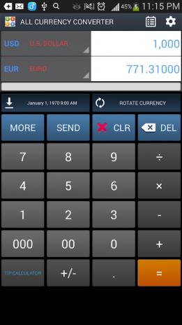 All Currency Converter Screenshot 4