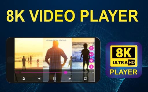 8K Video Player Ultra HD Pro 1 1 2 Unduh APK untuk Android - Aptoide