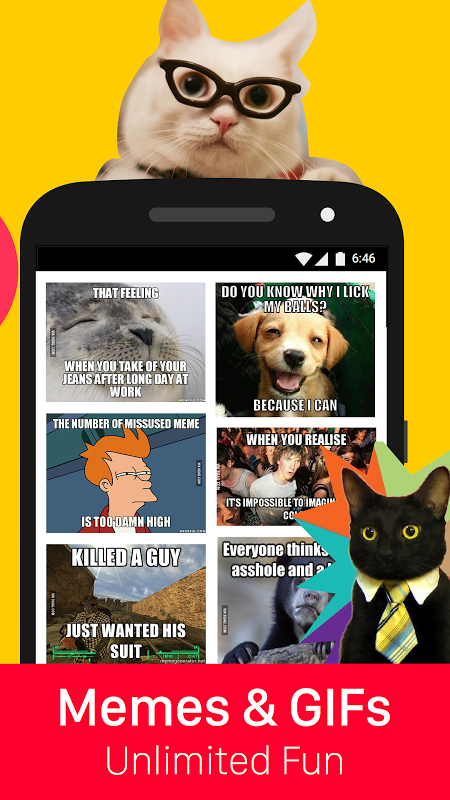 9GAG: Funny gifs, pics, fresh memes & viral videos screenshot 2