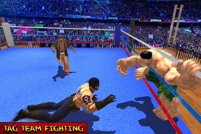 World Heroes Team Wrestling Revolution 1 0 Download APK for