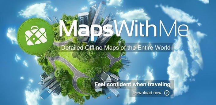 MAPS ME – Bản đồ tìm đường đi9 1 8-Huawei tải APK dành cho
