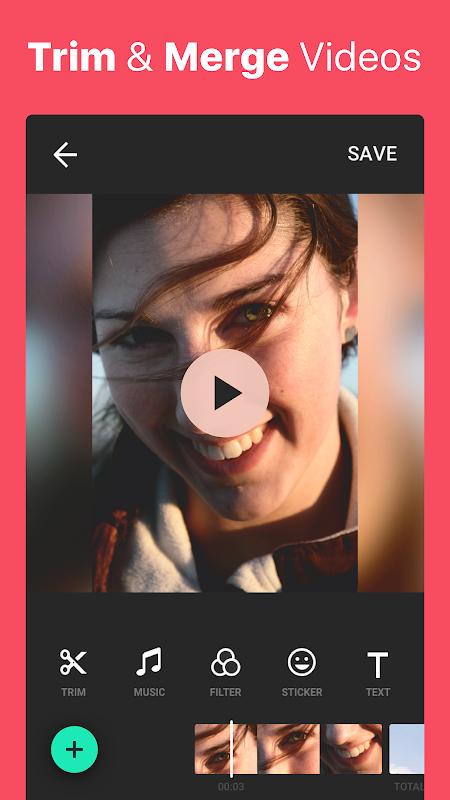 Video Editor Music,Cut,No Crop screenshot 1