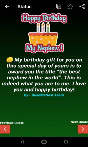 Birthday Wishes For Nephew Greeting Card Quotes 1 8 Download
