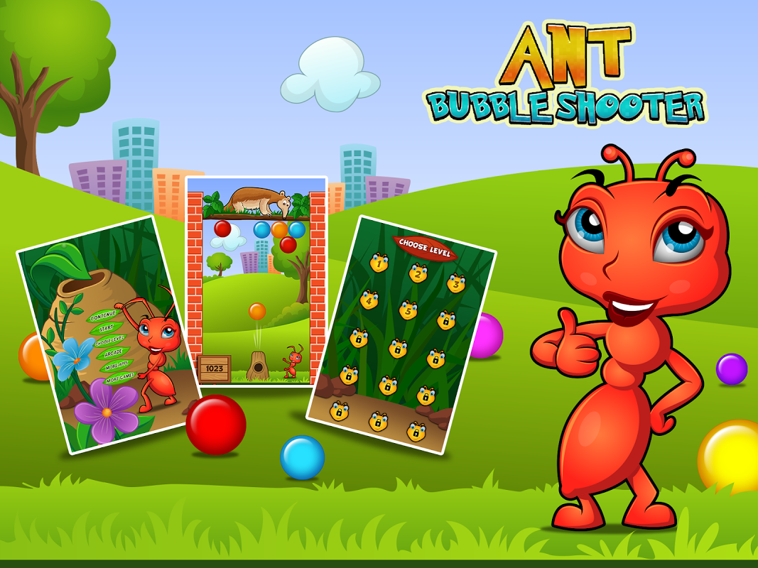 Ant Bubble Shooter screenshot 1