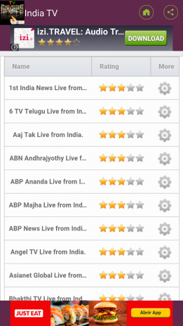 television channels in India 2 0 Download APK for Android